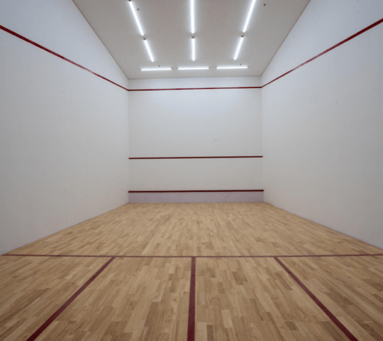 Clubhouse Squash Court Completed