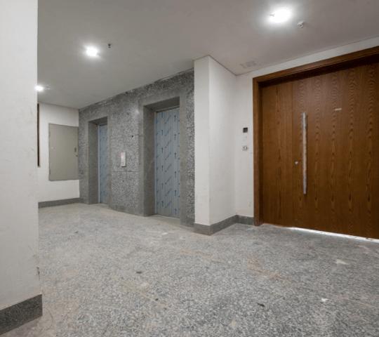 Typical Lift Lobby Tower Verona and Cordona.